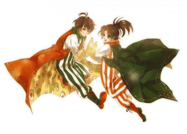 Tags: Anime, Final Fantasy IV, Palom, Porom
