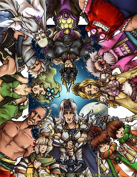 Tags: Anime, Karniz, Final Fantasy IV, Porom, Yang Fang Leiden, Kain Highwind, Tellah, Palom, Rydia of Mist, Gilbart Chris Von Muir, Cecil Harvey, Edward Geraldine, Rosa Joanna Farrell