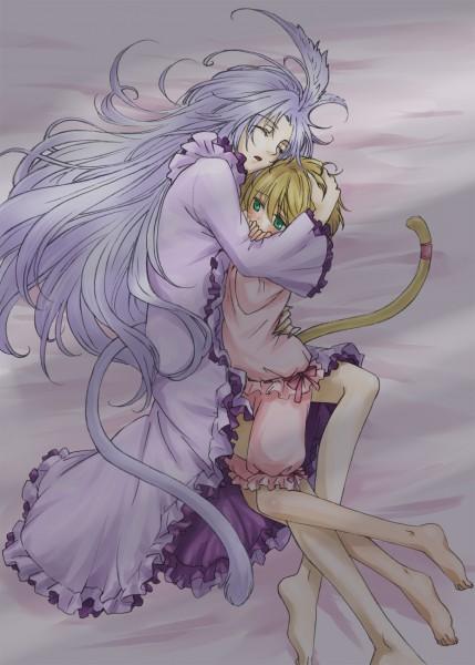 Tags: Anime, Final Fantasy IX, Mikoto (Final Fantasy IX), Kuja, Tail Ornament, Mobile Wallpaper