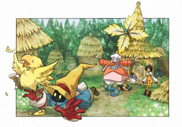 Tags: Anime, Niwa Toriko, Final Fantasy IX, Black Mage, Vivi Ornitier, Zidane Tribal, Garnet Til Alexandros XVII, Chocobo, Moogle, Quina Quen, Summoner, Pixiv