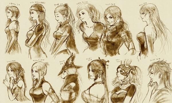 Tags: Anime, Final Fantasy XII, Final Fantasy V, Final Fantasy IX, Final Fantasy XIII, Final Fantasy VIII, Final Fantasy X, Final Fantasy IV, Final Fantasy VII, Final Fantasy VI, Sara Altney, Quistis Trepe, Lulu