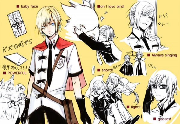 Tags: Anime, Nisoniso, Final Fantasy Type-0, Cinque (Final Fantasy Type-0), Kunagiri Machina, Chocobo, Ace (Final Fantasy Type-0), Pixiv, Fanart From Pixiv, Fanart, PNG Conversion