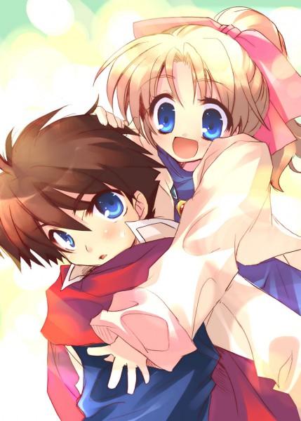 Tags: Anime, SQUARE ENIX, Final Fantasy V, Krile Mayer Baldesion, Butz Klauser