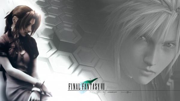 Tags: Anime, Final Fantasy VII: Advent Children, Final Fantasy VII, Aerith Gainsborough, Cloud Strife, Wallpaper, HD Wallpaper