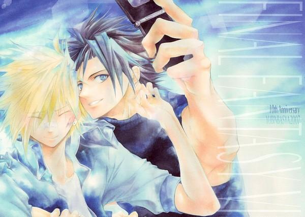 Tags: Anime, Akizuki Ryou (Artist), Final Fantasy VII, Zack Fair, Cloud Strife, Fanart