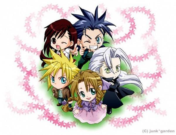 Tags: Anime, Final Fantasy VII, Tifa Lockhart, Zack Fair, Aerith Gainsborough, Sephiroth, Cloud Strife