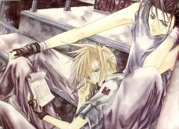 Tags: Anime, Tohru Adumi, SQUARE ENIX, Final Fantasy VII, Zack Fair, Cloud Strife