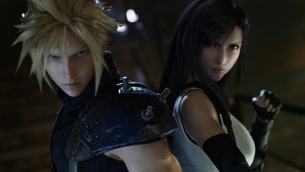 Tags: Anime, SQUARE ENIX, Final Fantasy VII Remake, Final Fantasy VII, Tifa Lockhart, Cloud Strife, Screenshot