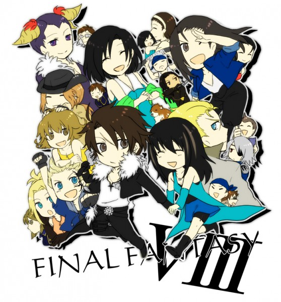 Tags: Anime, Nomura Tetsuya, Final Fantasy VIII, Rinoa Heartilly, Julia Heartilly, Squall Leonhart, Seifer Almasy, Raine Loire, Ellone, Z-one, Zell Dincht, Nida, Raijin (Final Fantasy VIII)