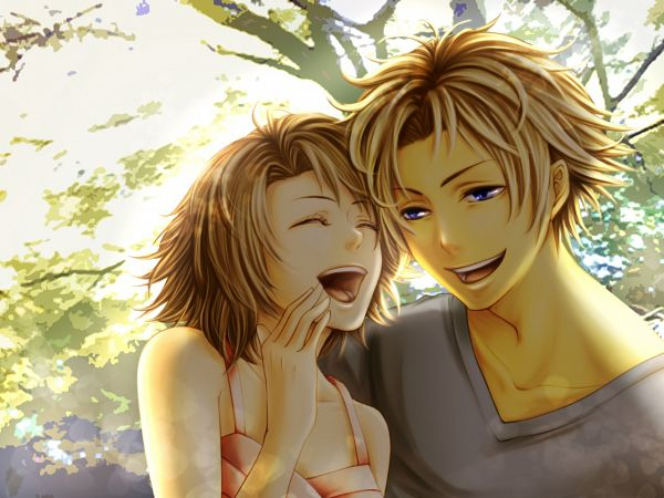 Tags: Anime, Pixiv Id 200656, Final Fantasy X, Tidus, Yuna, Pixiv, Fanart From Pixiv, Fanart