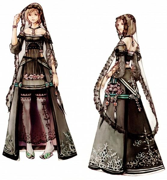 Tags: Anime, SQUARE ENIX, Final Fantasy XII, Ashelia B'nargin Dalmasca, Scan, Artist Request, Official Art