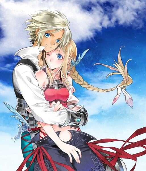 Tags: Anime, Pixiv Id 732682, SQUARE ENIX, Final Fantasy XII, Penelo, Vaan