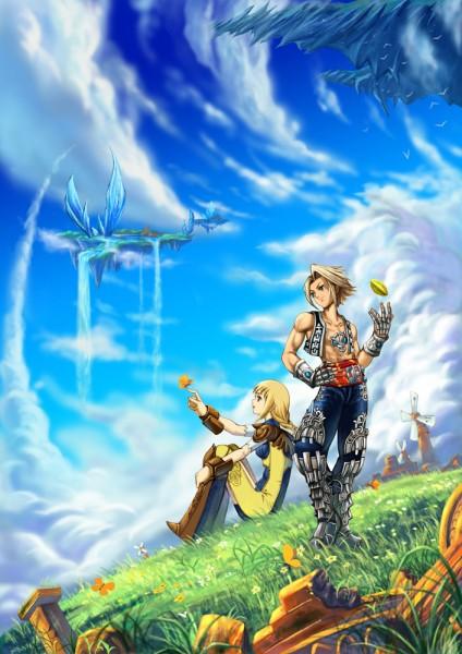 Tags: Anime, Diamond Dust, Final Fantasy XII, Vaan, Penelo