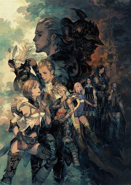 Tags: Anime, SQUARE ENIX, Final Fantasy XII, Fran (FFXII), Vayne Carudas Solidor, Basch Fon Ronsenburg, Penelo, Vaan, Viera, Larsa, Gabranth, Balthier, Ashelia B'nargin Dalmasca