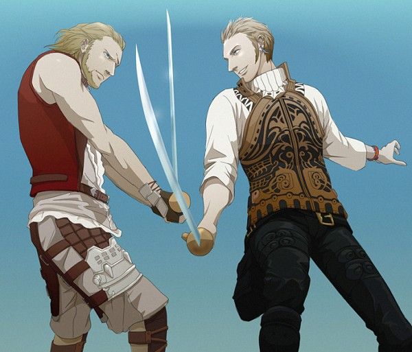 Tags: Anime, Doubleleaf, Final Fantasy XII, Basch Fon Ronsenburg, Balthier