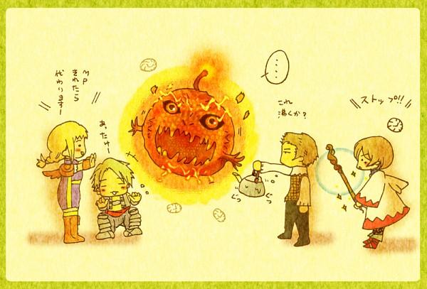 Tags: Anime, SQUARE ENIX, Final Fantasy XII, Vaan, Balthier, Penelo, Ashelia B'nargin Dalmasca, Fanart, Pixiv