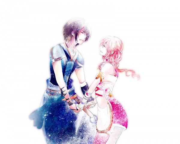 Tags: Anime, Hinano (Riyuko), Final Fantasy XIII, Noel Kreiss, Serah Farron