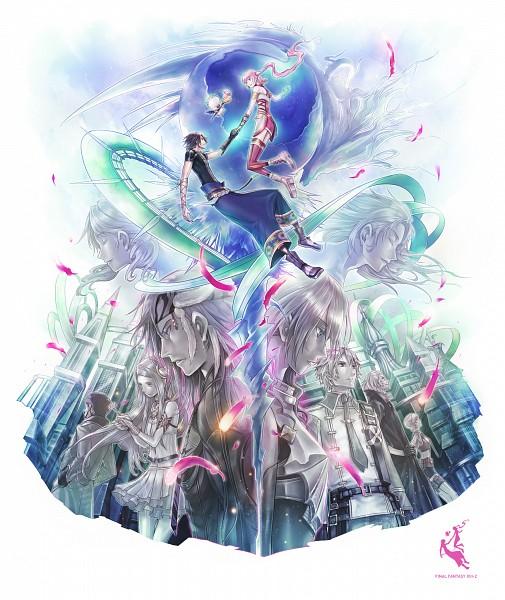 Tags: Anime, Amatari Sukuzakki, Final Fantasy XIII, Hope Estheim, Alyssa Zaidelle, Noel Kreiss, Snow Villiers, Yeul, Serah Farron, Oerba Dia Vanille, Sazh Katzroy, Moogle, Caius Ballad