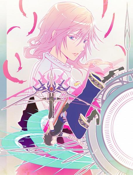 Tags: Anime, Amatari Sukuzakki, Final Fantasy XIII, Noel Kreiss, Lightning Farron, Pixiv, Fanart, Fanart From Pixiv