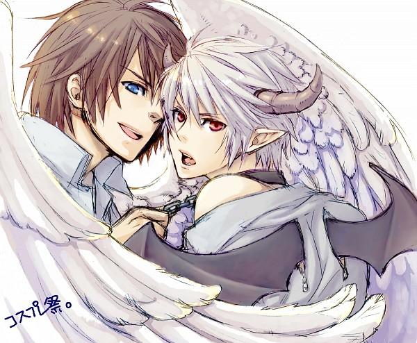 Tags: Anime, Pixiv Id 2532992, Final Fantasy XIII, Hope Estheim, Noel Kreiss, Incubus, Pixiv, Fanart From Pixiv, Fanart