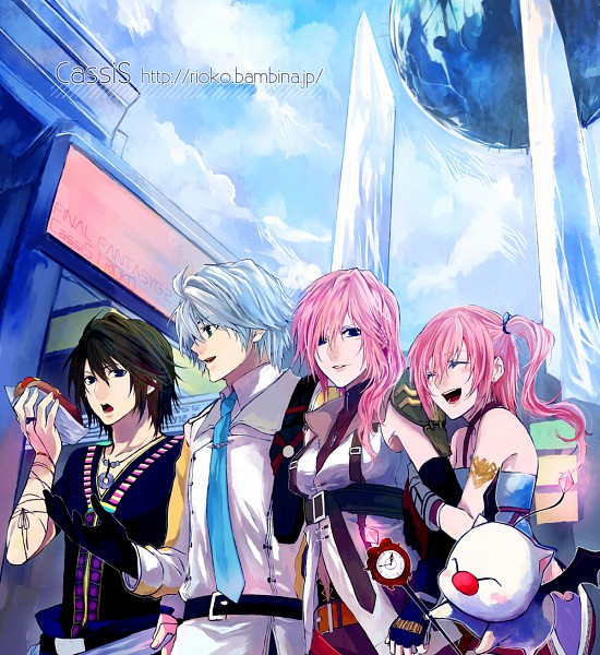 Tags: Anime, Rioko, Final Fantasy XIII, Serah Farron, Hope Estheim, Noel Kreiss, Lightning Farron
