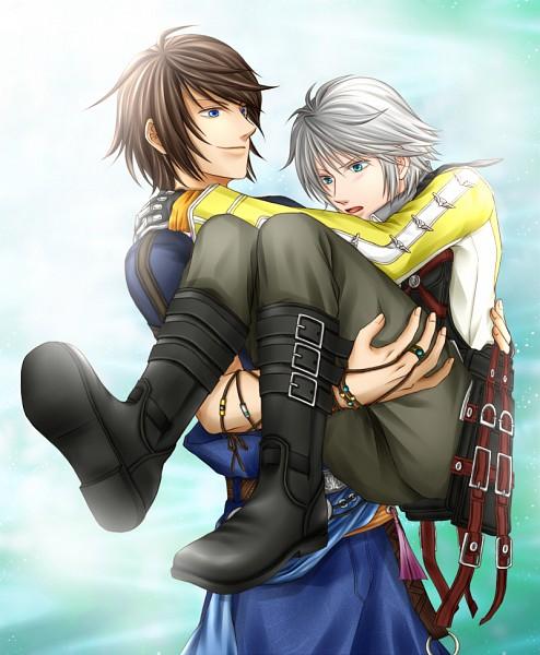 Tags: Anime, Pixiv Id 2502397, Final Fantasy XIII, Hope Estheim, Noel Kreiss