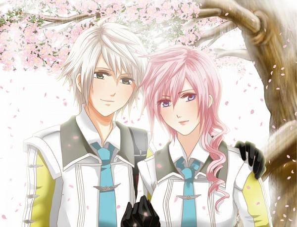Tags: Anime, Pixiv Id 2977786, Final Fantasy XIII, Lightning Farron, Hope Estheim