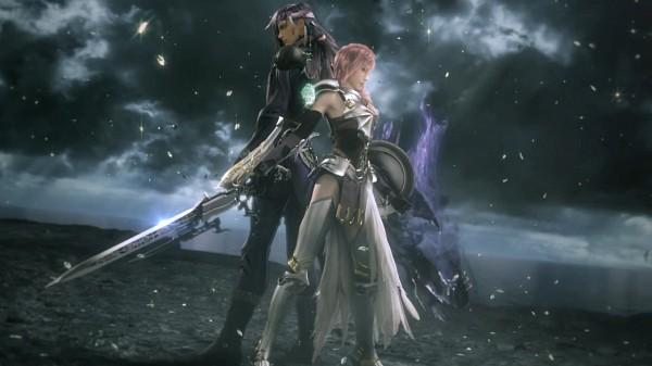 Tags: Anime, Nomura Tetsuya, SQUARE ENIX, Final Fantasy XIII, Caius Ballad, Lightning Farron, Screenshot, Facebook Cover