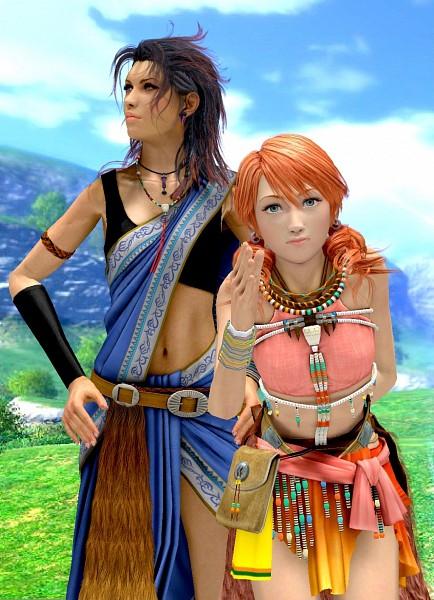 Tags: Anime, Final Fantasy XIII, Oerba Yun Fang, Oerba Dia Vanille