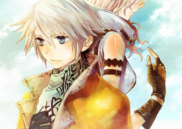 Tags: Anime, Pixiv Id 805757, SQUARE ENIX, Final Fantasy XIII, Lightning Farron, Hope Estheim, Fanart From Pixiv, Fanart, Pixiv