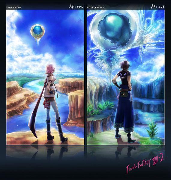 Tags: Anime, Amatari Sukuzakki, Final Fantasy XIII, Noel Kreiss, Lightning Farron