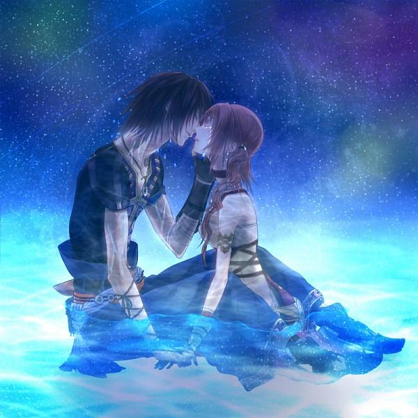 Tags: Anime, Kei (Space Sonic), Final Fantasy XIII, Noel Kreiss, Serah Farron