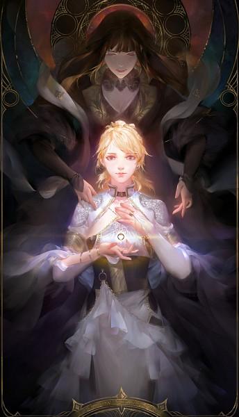 Tags: Anime, Final Fantasy XV, Gentiana, Lunafreya Nox Fleuret, Fanart
