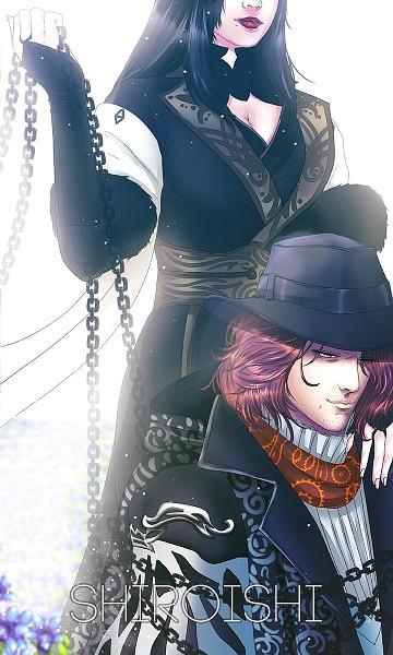Tags: Anime, Shiroishi, Final Fantasy XV, Gentiana, Ardyn Izunia, 720x1200 Wallpaper, 3:5 Ratio, Wallpaper, Mobile Wallpaper, Fanart, Tumblr