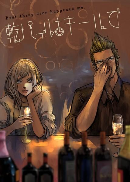 Tags: Anime, Pixiv Id 13960637, Final Fantasy XV, Aranea Highwind, Ignis Scientia, Pixiv, Fanart, Fanart From Pixiv