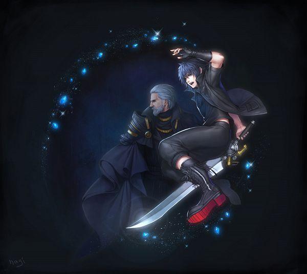 Tags: Anime, Pixiv Id 8629526, Final Fantasy XV, Regis Lucis Caelum CXIII, Noctis Lucis Caelum, Fanart, Fanart From Pixiv, Pixiv