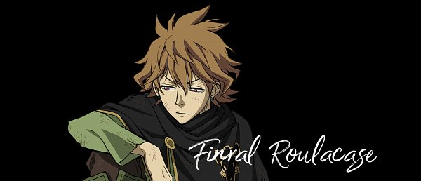 Tags: Anime, Studio Pierrot, Black Clover, Finral Roulacase, Official Art