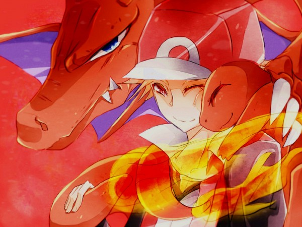 Tags: Anime, Pixiv Id 4207506, Pokémon, Charmander, Fire (Pokémon), Charizard