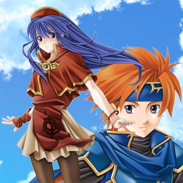 Tags: Anime, Tamamon, Fire Emblem: Fuuin no Tsurugi, Lilina (Fire Emblem), Roy (Fire Emblem), Fire Emblem: Binding Blade