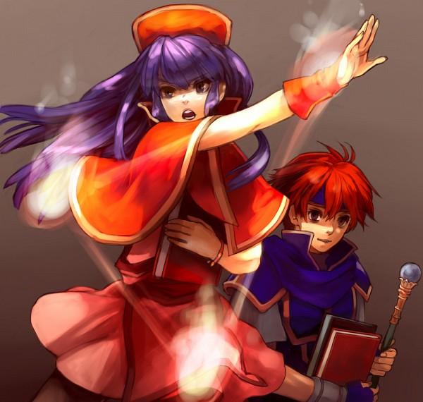 Tags: Anime, Fire Emblem: Fuuin no Tsurugi, Roy (Fire Emblem), Lilina (Fire Emblem), Pixiv, Fanart From Pixiv, Fanart, Fire Emblem: Binding Blade