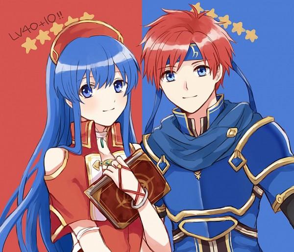 Tags: Anime, Wspread, Fire Emblem: Fuuin no Tsurugi, Lilina (Fire Emblem), Roy (Fire Emblem), Fanart, Twitter, Fire Emblem: Binding Blade