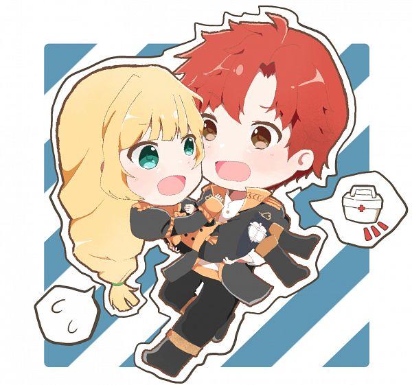 Tags: Anime, Pixiv Id 15712218, Fire Emblem: Fuuka Setsugetsu, Ingrid Brandol Galatea, Sylvain Jose Gaultier, Fire Emblem: Three Houses