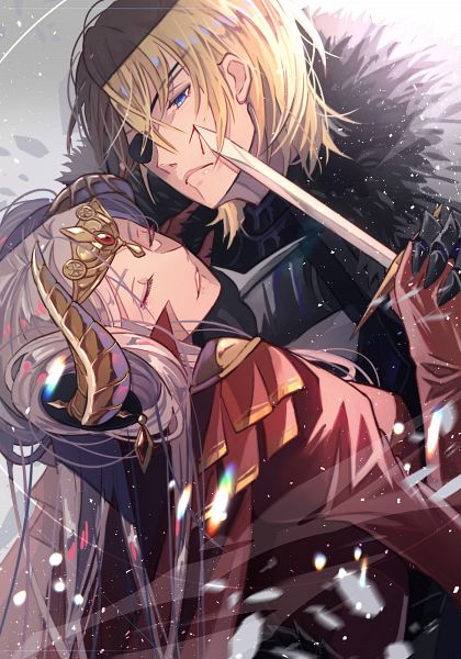 Tags: Anime, Kariya, Fire Emblem: Fuuka Setsugetsu, Edelgard von Hræsvelgr, Dimitri Alexandre Bladud, Fire Emblem: Three Houses