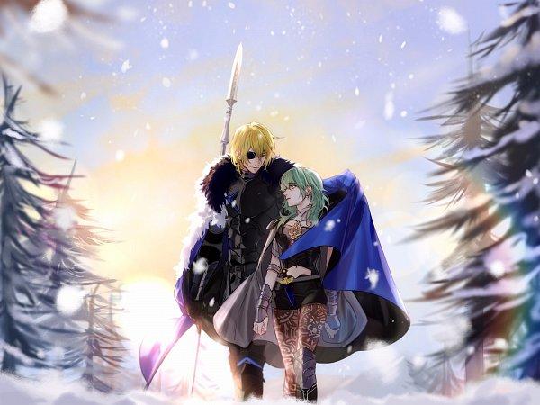 Tags: Anime, Krstou, Fire Emblem: Fuuka Setsugetsu, Beres (Fire Emblem), Dimitri Alexandre Bladud, Fire Emblem: Three Houses