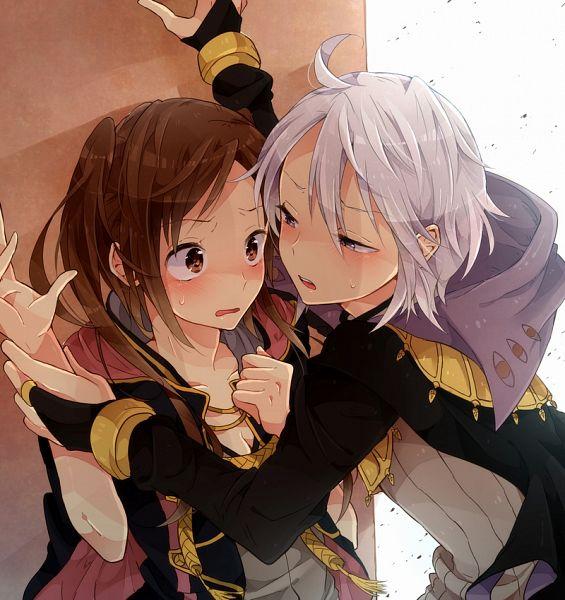 Tags: Anime, Tobari (Brokenxxx), Fire Emblem: Kakusei, Rufure (Female) (Fire Emblem), Henry (Fire Emblem), Pixiv, Fanart, Fanart From Pixiv, Fire Emblem: Awakening