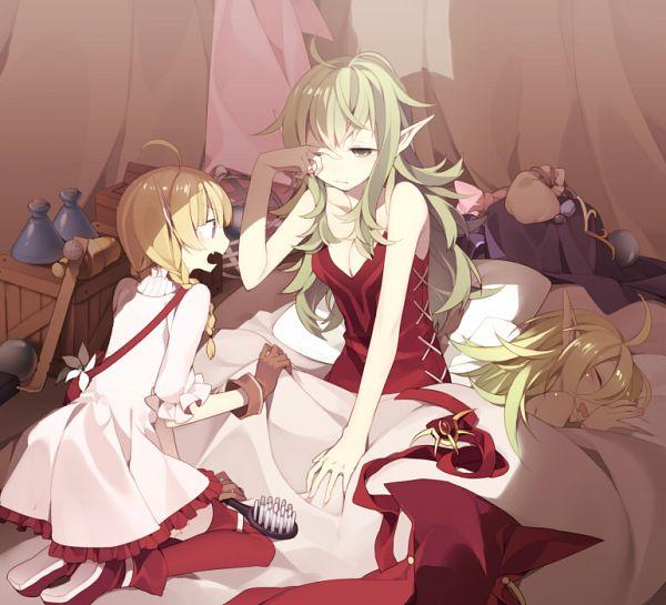 Tags: Anime, Hijiri, Fire Emblem: Kakusei, Nn (Fire Emblem), Nono (Fire Emblem), Chiki (Fire Emblem), Fanart, Fire Emblem: Awakening