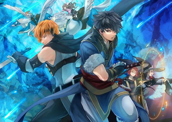 Tags: Anime, Pixiv Id 3496687, Fire Emblem: Kakusei, Smia, Laurent (Fire Emblem), Gaius (Fire Emblem), Ronku, Cynthia (Fire Emblem), Miriel, Fire Emblem: Awakening