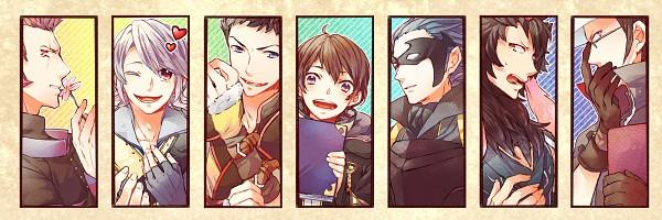 Tags: Anime, C-chicken, Fire Emblem: Kakusei, Laurent (Fire Emblem), Brady, Wood (Fire Emblem), Jerome (Fire Emblem), Azure (Fire Emblem), Chambray, Marc (Male) (Fire Emblem), Twitter Header, Fire Emblem: Awakening