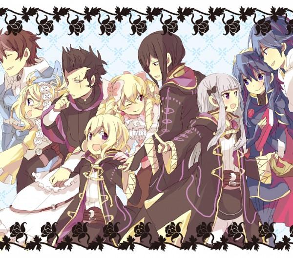 Tags: Anime, satori (サトリ), Fire Emblem: Kakusei, Rufure (Male) (Fire Emblem), Chrom (Fire Emblem), Mariabell (Fire Emblem), Marc (Female) (Fire Emblem), Frederik (Fire Emblem), Rufure (Female) (Fire Emblem), Lucina (Fire Emblem), Brady, Liz (Fire Emblem), Fire Emblem: Awakening