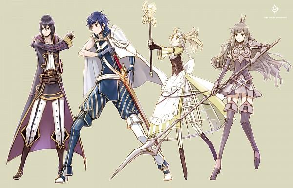 Tags: Anime, Amatari Sukuzakki, Fire Emblem: Kakusei, Rufure (Male) (Fire Emblem), Smia, Liz (Fire Emblem), Chrom (Fire Emblem), Fire Emblem: Awakening